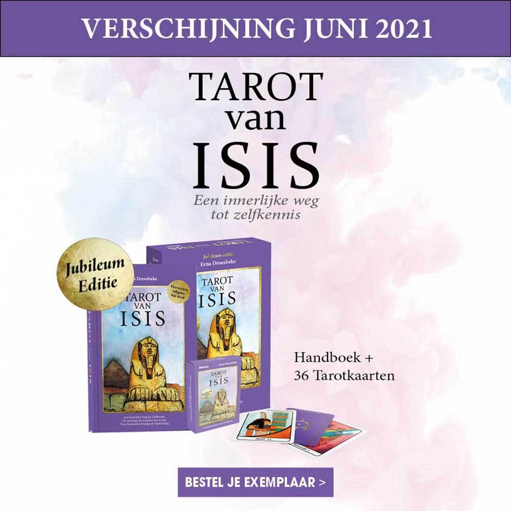 Tarot van Isis Set Erna Droesbeke