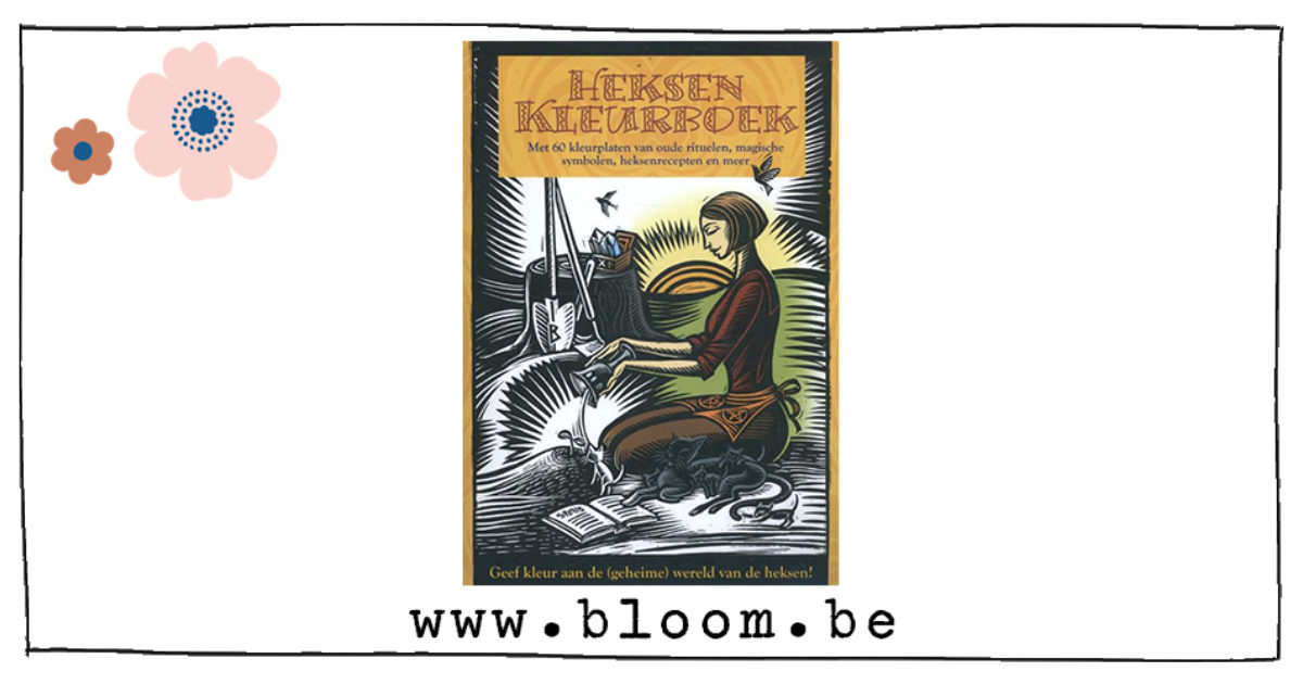 Kleurplaten Heksenketel.Heksen Kleurboek Leuk Cadeau Of Om In Te Lijsten