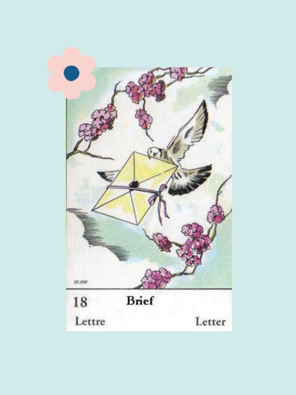 Kaart 18: De Brief
