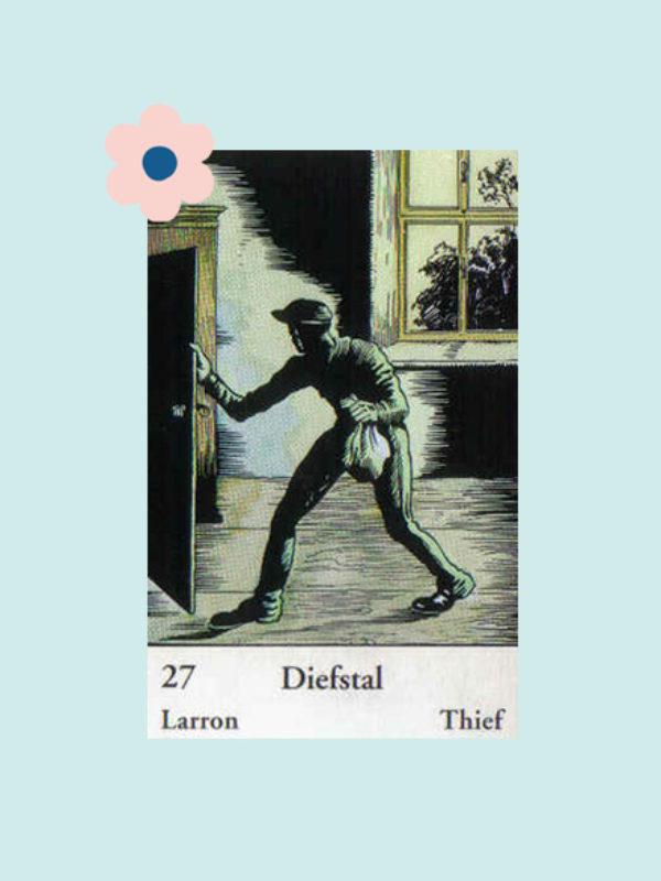 Kaart 27: De Dief