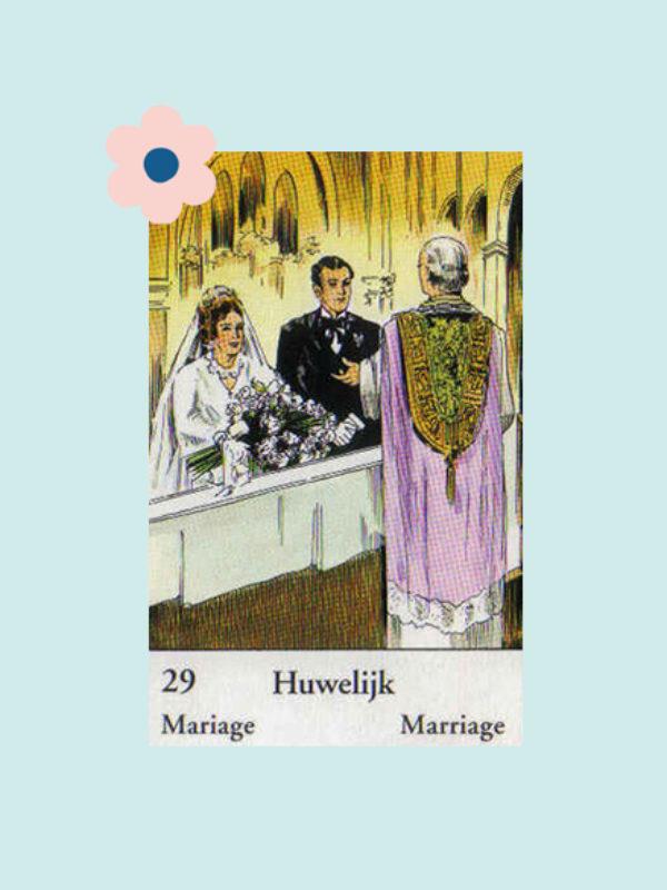 Kaart 29: Het Huwelijk