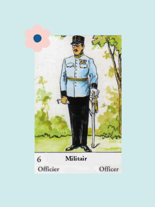 Kaart 6: De Militair
