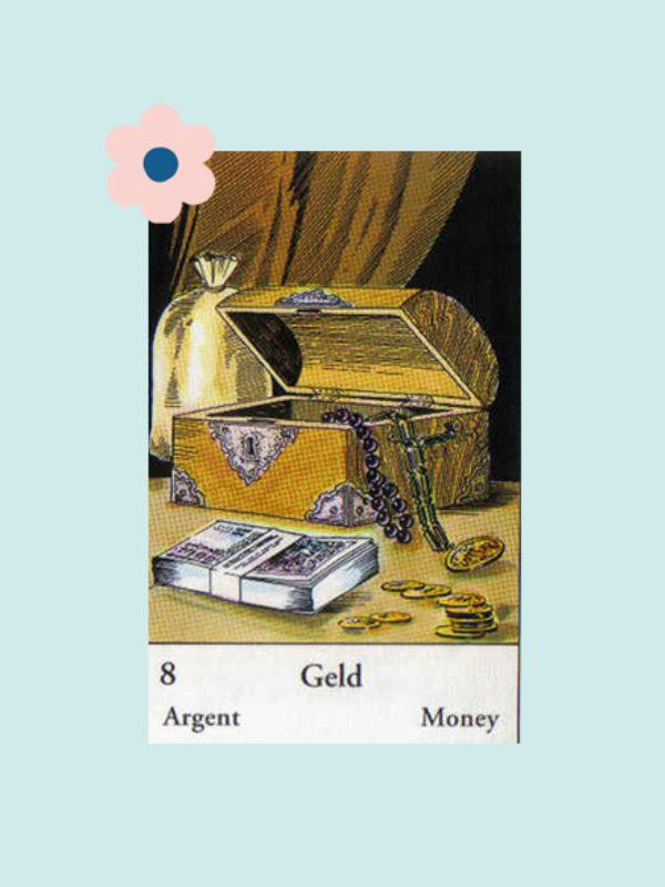 Kaart 8: Het Geld