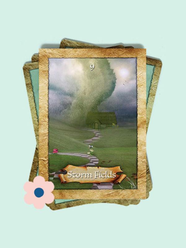 Kaart 9: Stormvelden