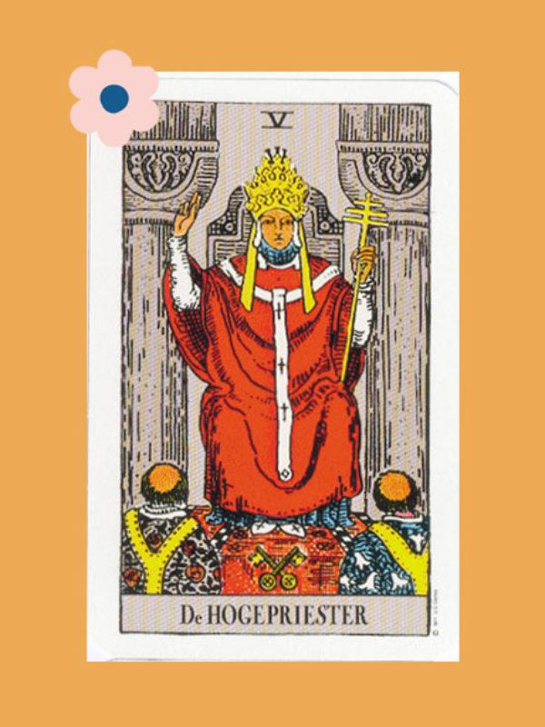 Kaart 5: De Hogepriester