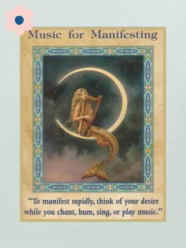 Muziek bij het manifesteren