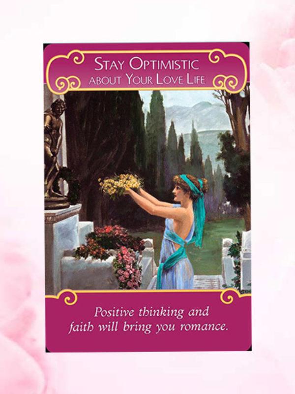Blijf optimistisch over je liefdesleven