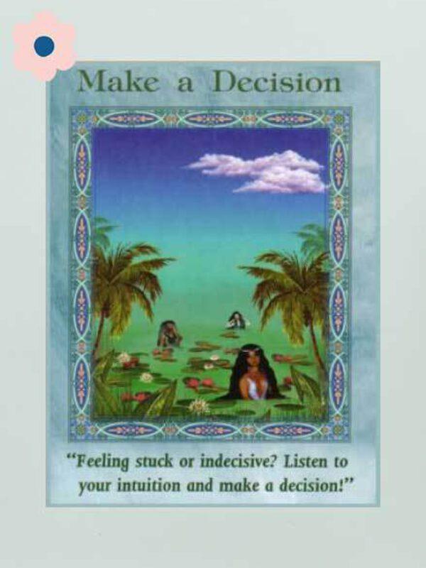 Neem een beslissing