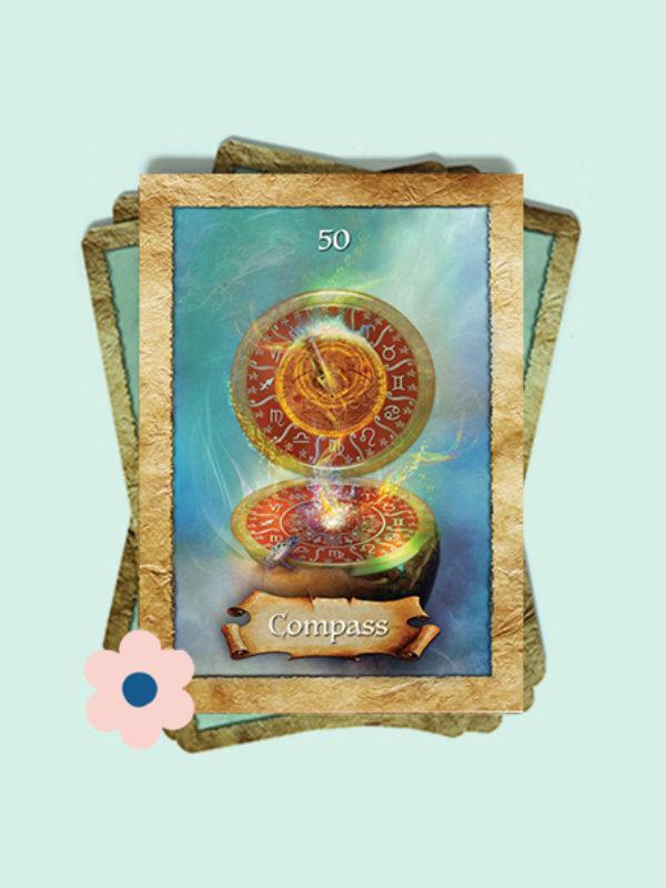 Kaart 50: Kompas