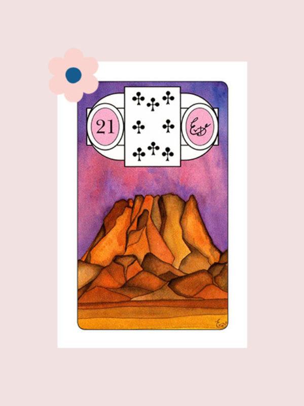 De Berg - Lenormand kaart 21