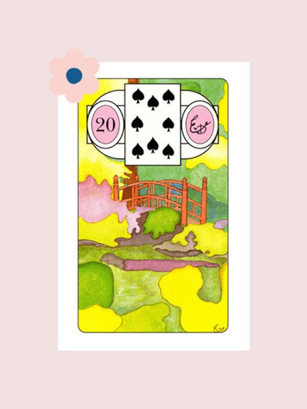 De Tuin - Lenormand kaart 20