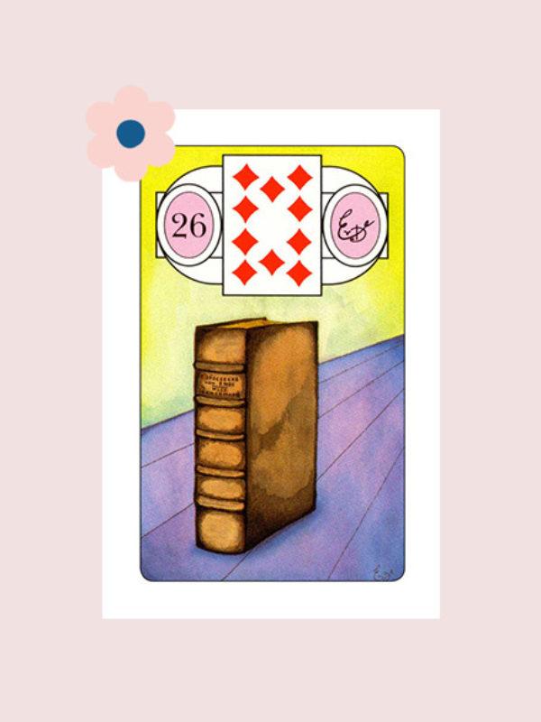 Het Boek - Lenormand kaart 26