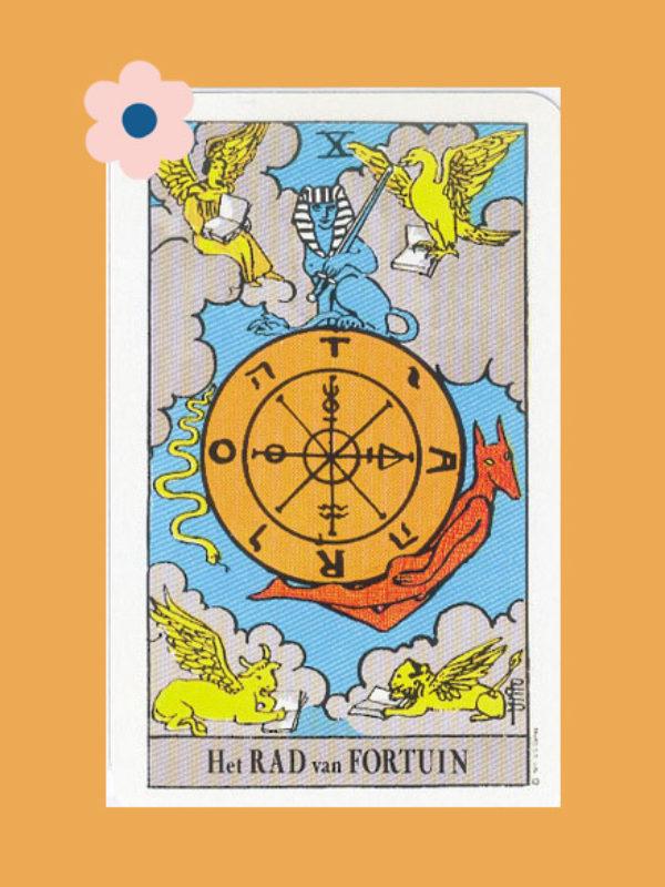 Kaart 10: Het Rad van Fortuin