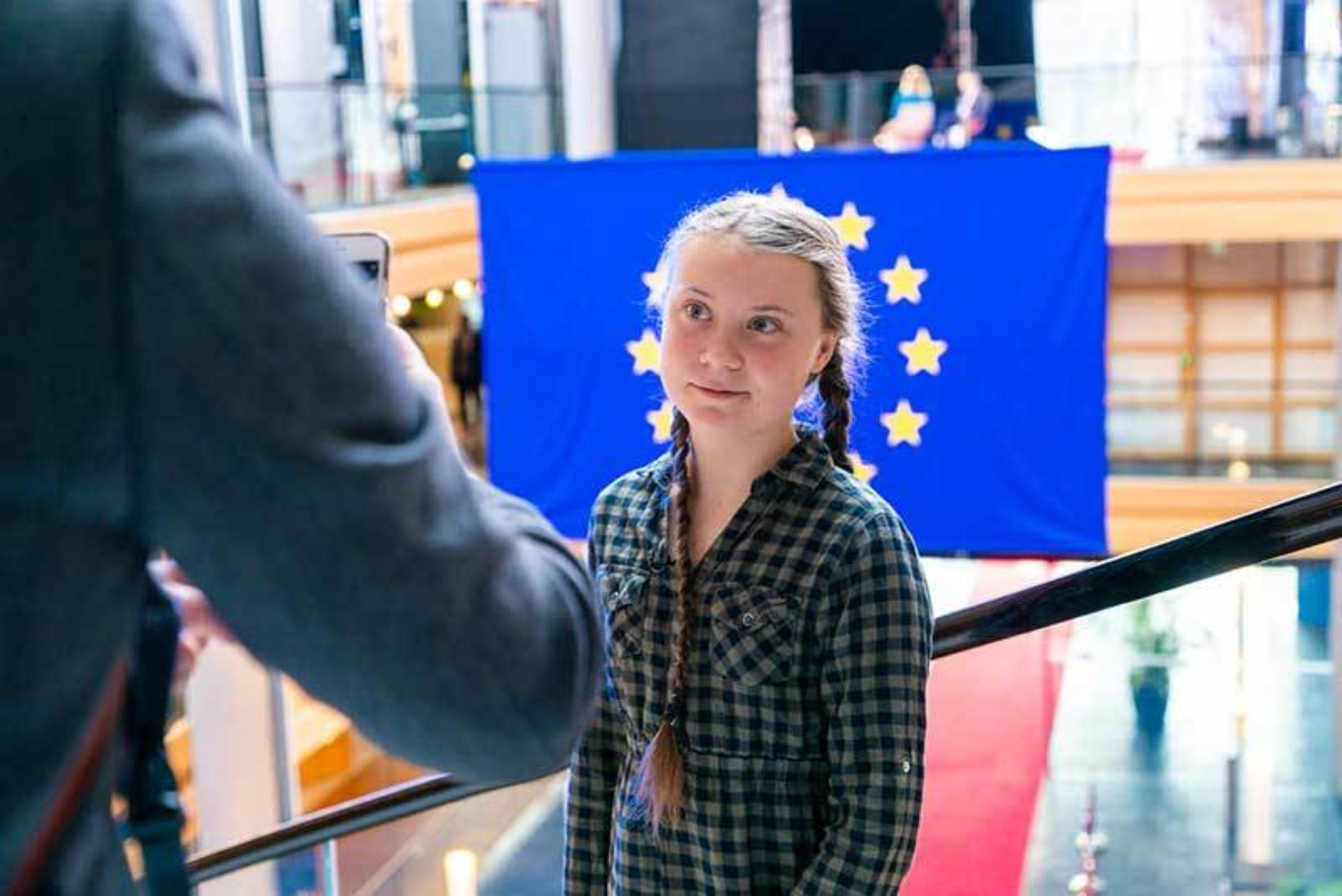 Greta Thunberg: 16 and on a mission