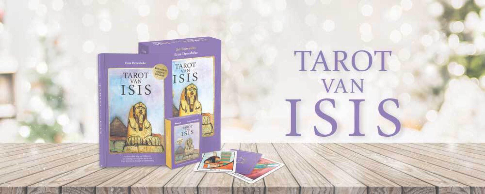 Tarot van Isis: ontwerpster Erna Droesbeke geeft ons een inkijk in het creatieve proces