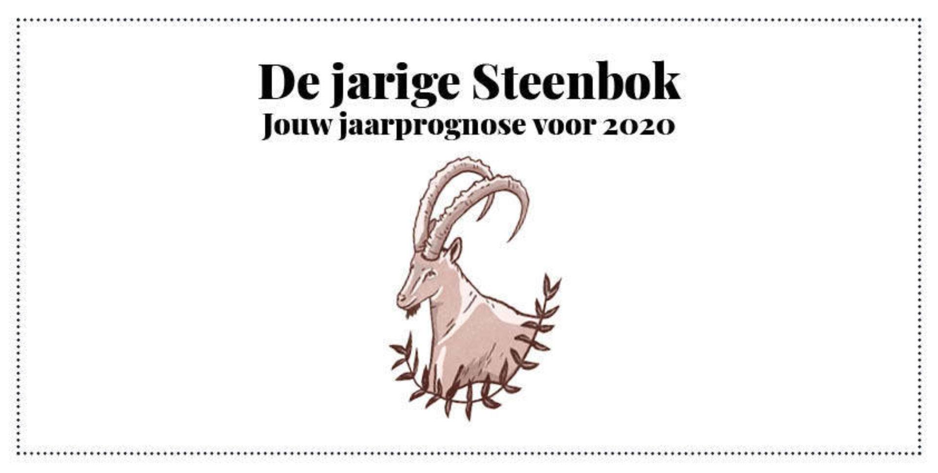 Steenbok, jouw jaarhoroscoop 2020