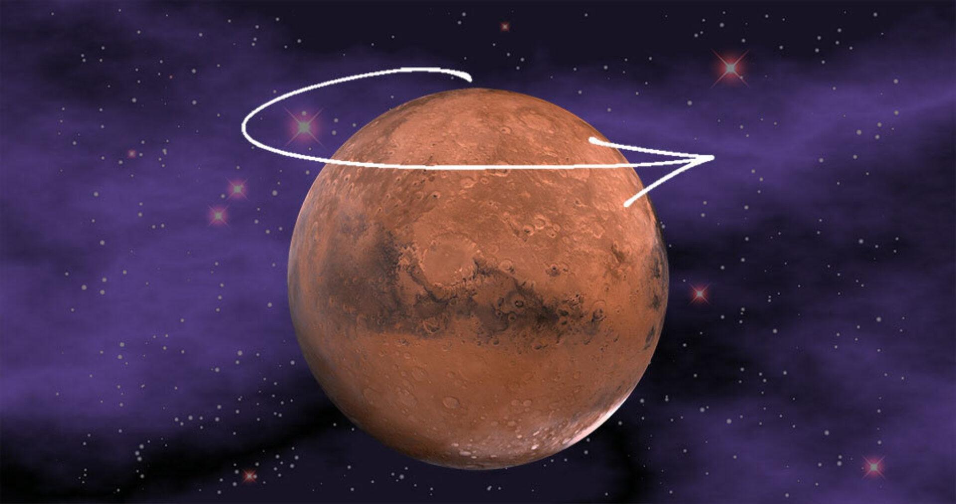 Retrograde Mars in je geboortehoroscoop