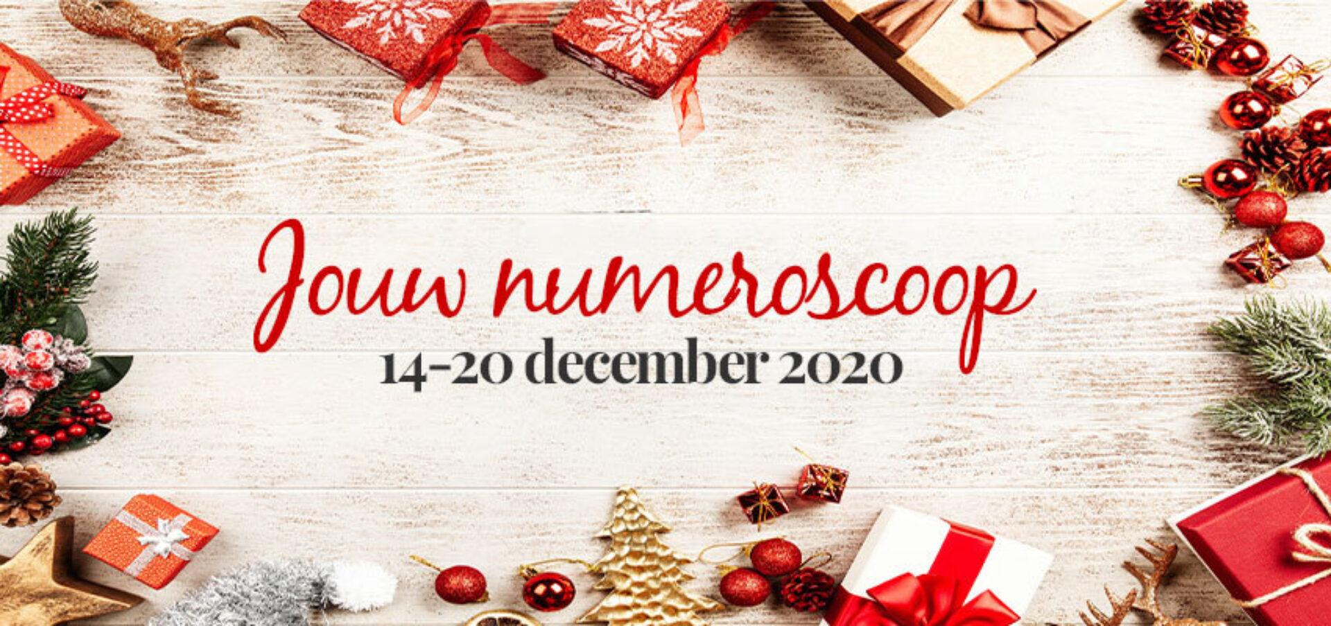Numeroscoop 14 – 20 december 2020: wat staat er jou te wachten?