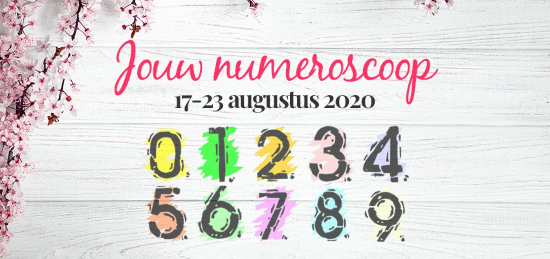 Numeroscoop 17 – 23 augustus: wat staat er jou te wachten?