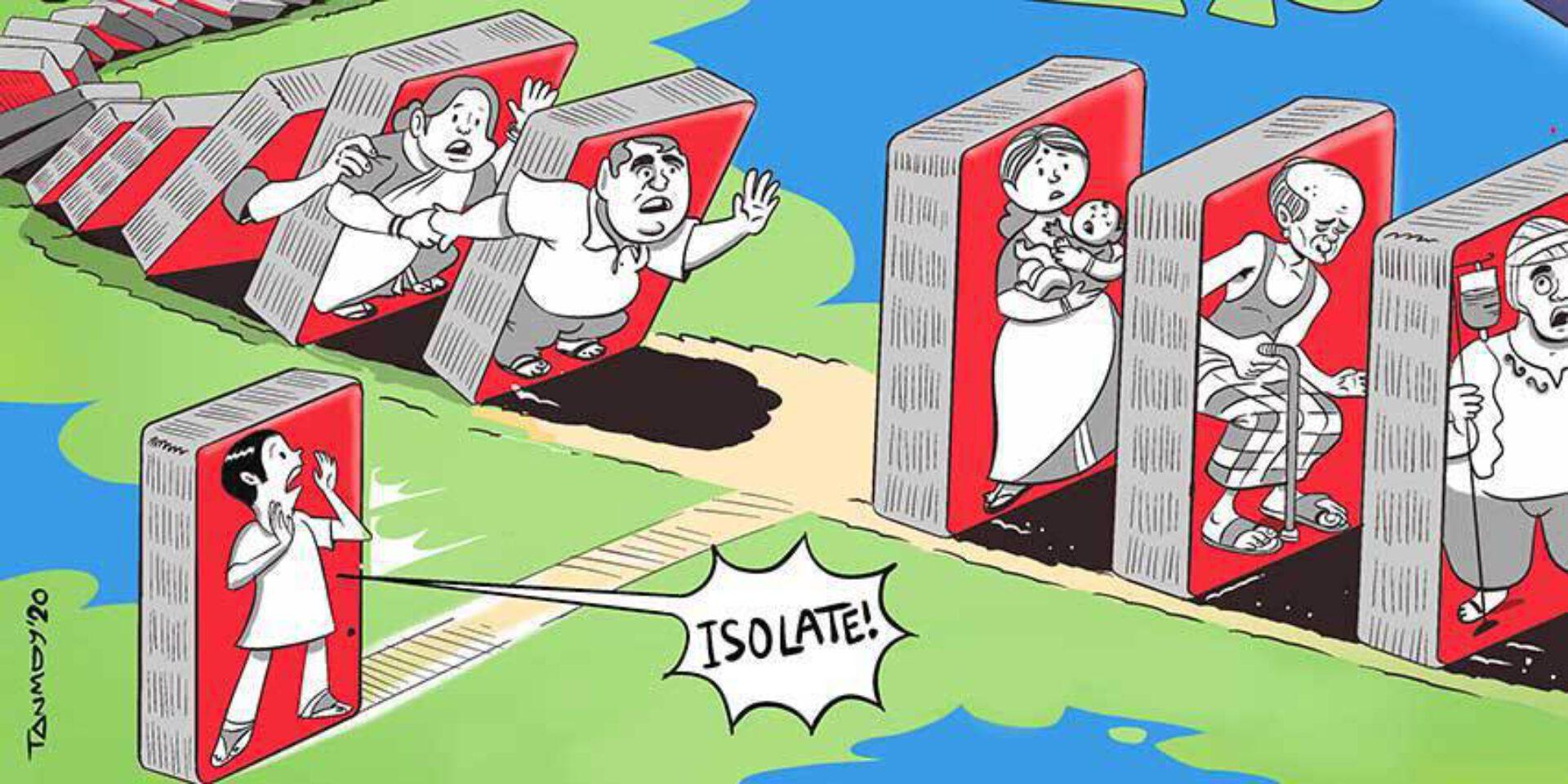 OPINIE / In deze crisis moeten politici beslissen, op principiële eerder dan rationele gronden