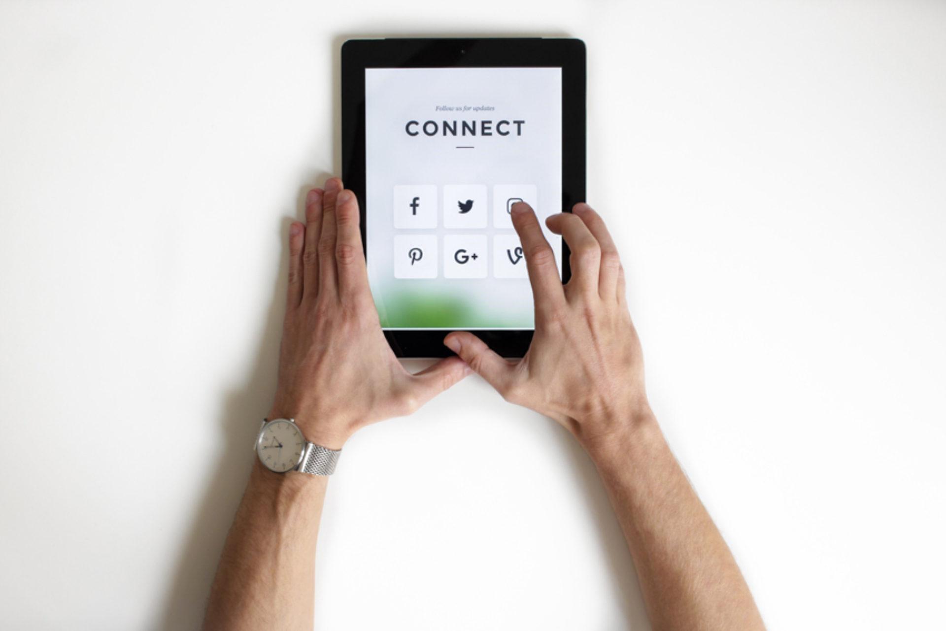 Social media: bron van stress?