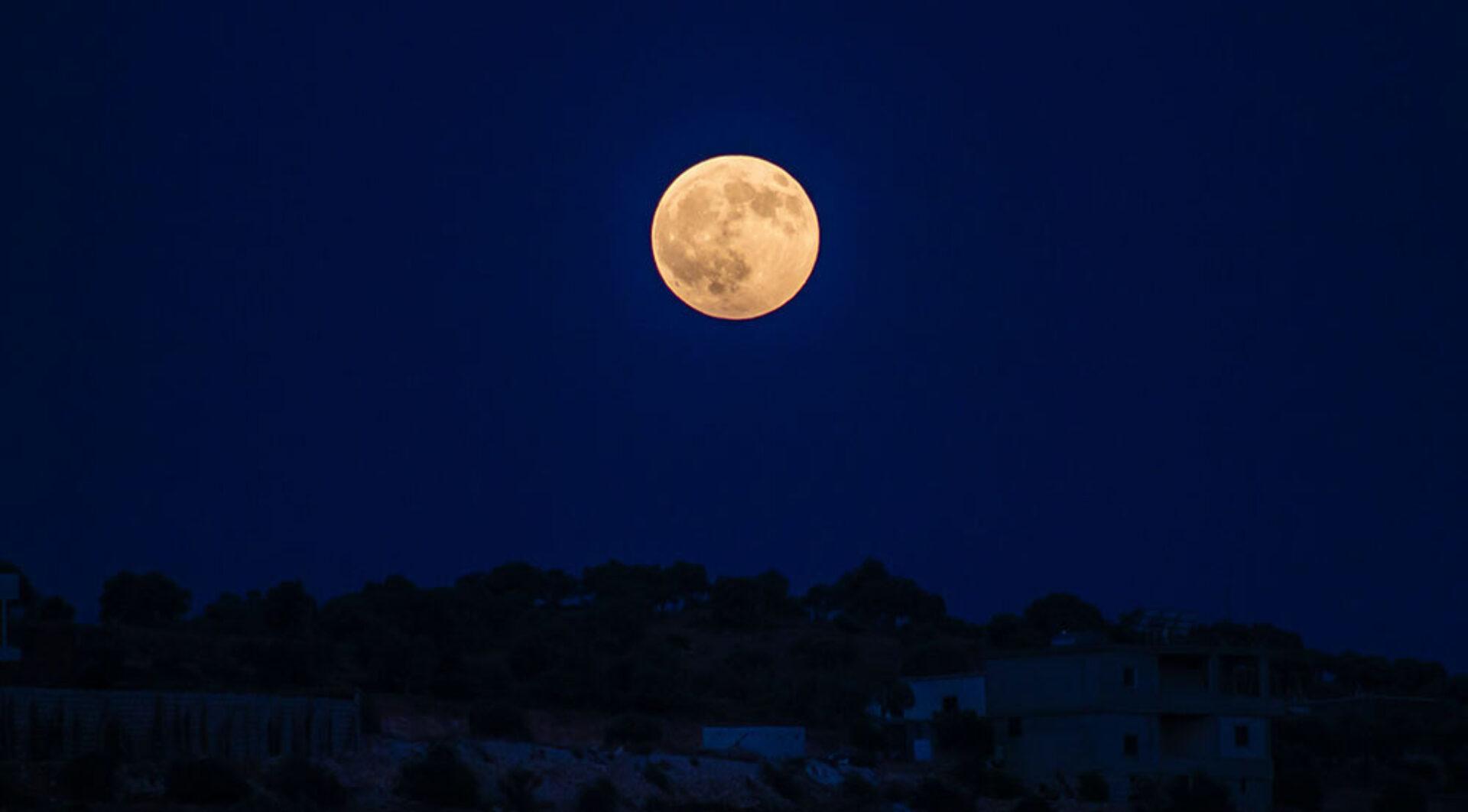 VIDEO: Volle Maan in Ram 1 oktober 2020