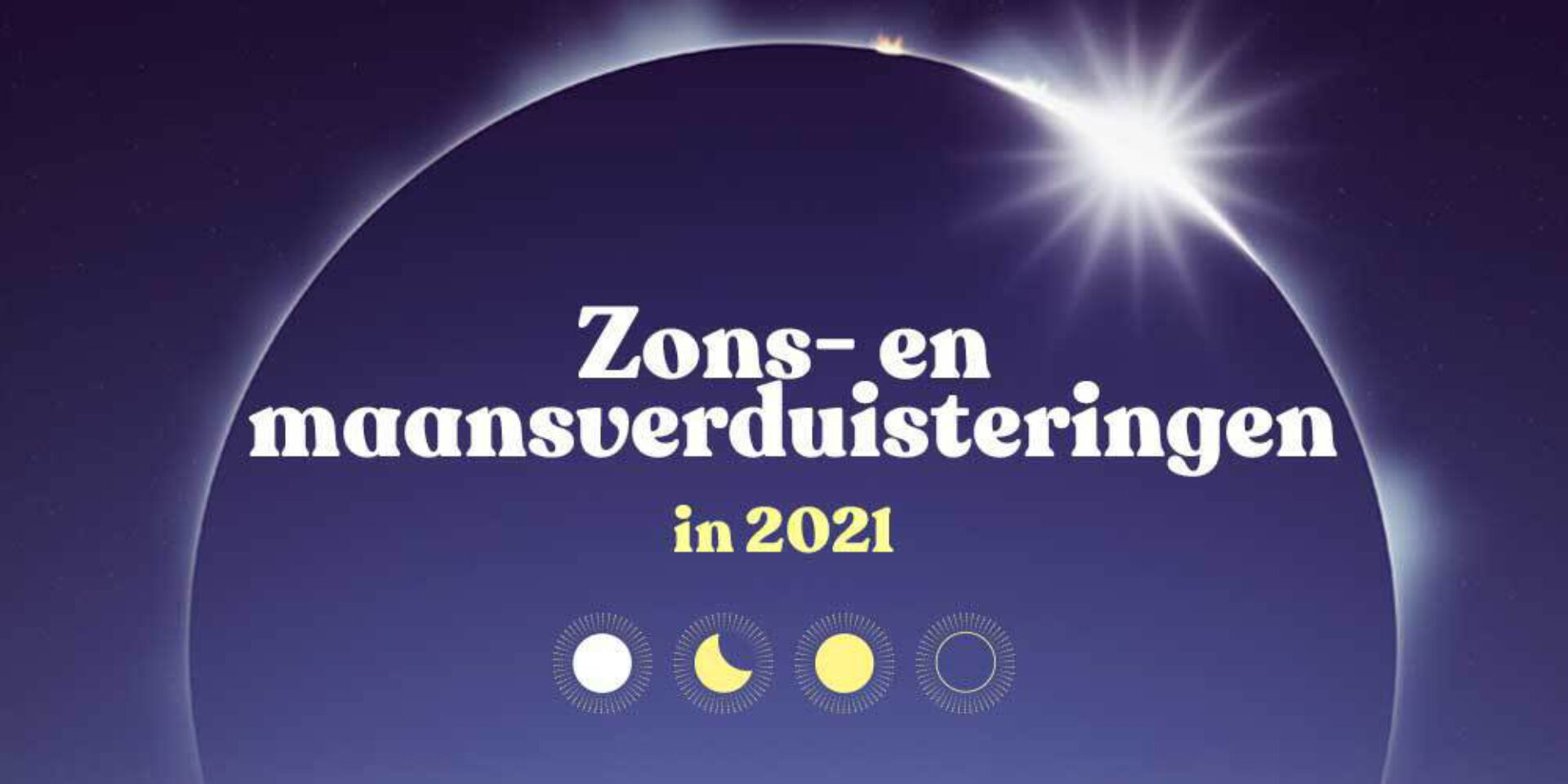 Zons- en  maansverduisteringen 2021