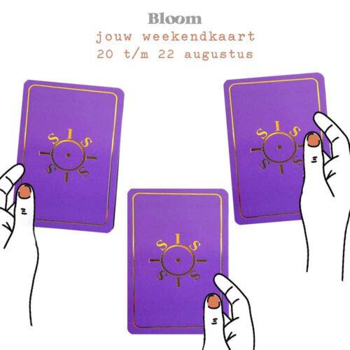 Weekendkaart 20/08/2021 - 22/08/2021
