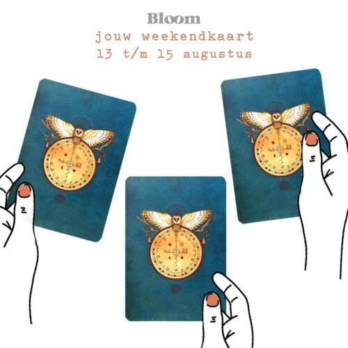 Weekendkaart 13/08/2021 - 15/08/2021