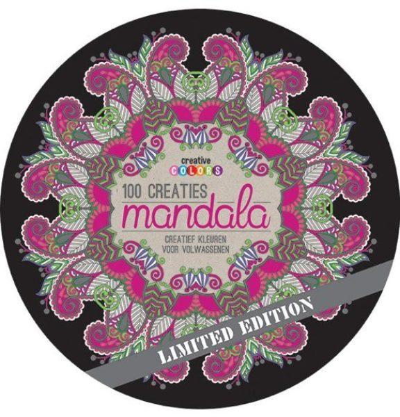 100 mandala creaties kleurboek volwassenen 9789461885616 boek Bloom web
