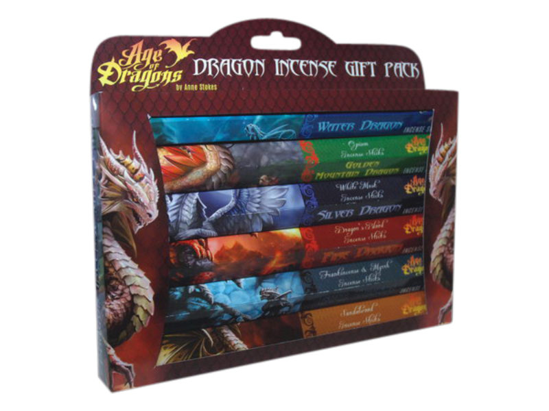 Age Of Dragons Wierook 6 Delige Giftset Anne Stokes Bloom Web