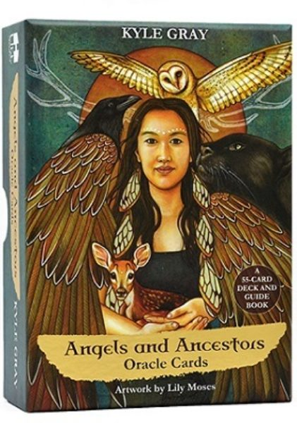 Angels and Ancestors Oracle Cards 9781788170017 Kyle Gray kaarten Bloom Web