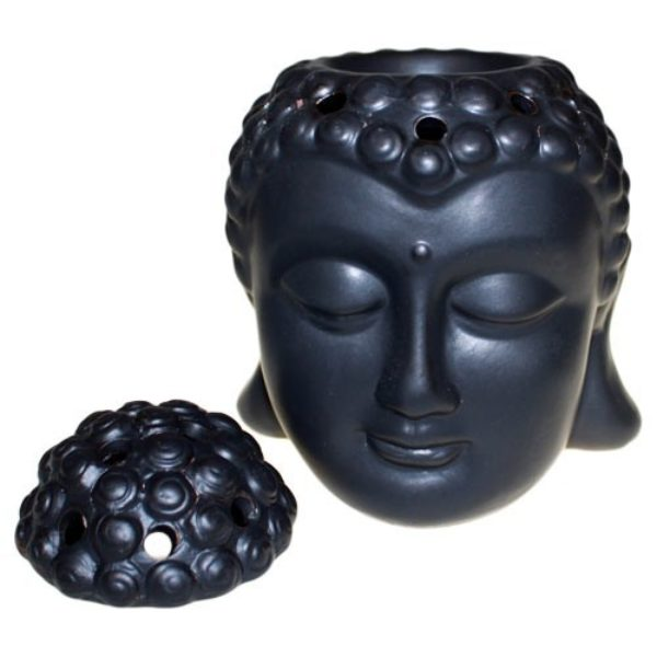 Aroma Brander Boeddha Zwart Bloom Web