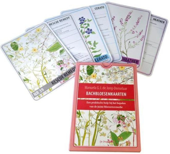 Bachbloesemkaarten Manuela de Jong 9789060307090 Bloom Web