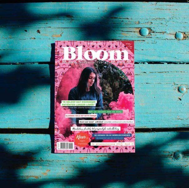 Bloom Abonnement Word Bloomer Print Gold Spiritueel blad Minstyle Tijdschrift