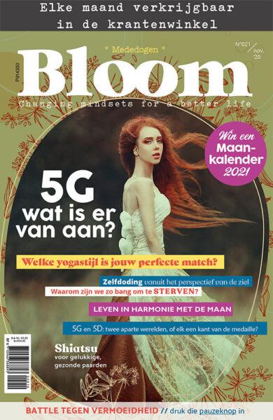 Bloom november 2020 tijdschrift cover web