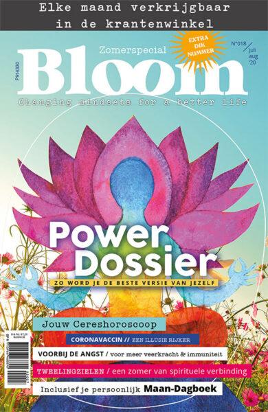 Bloom zomer juli augustus tijdschrift 2020 cover webshop