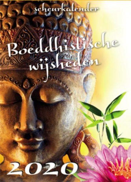 Boeddhistische wijsheden scheurkalender 2020 9789463543408 Bloom Web