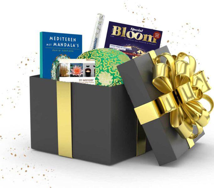 Cadeaubox meditatie pakket cadeau Bloom web