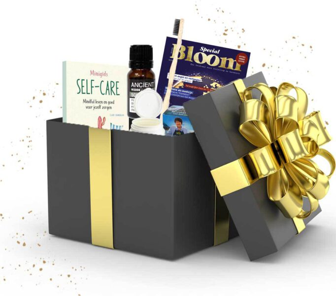 Cadeaubox selfcare zelfzorg pakket cadeau Bloom web