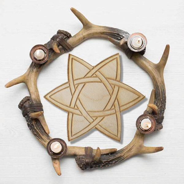 Celtic Star Crystal Grid Bloom