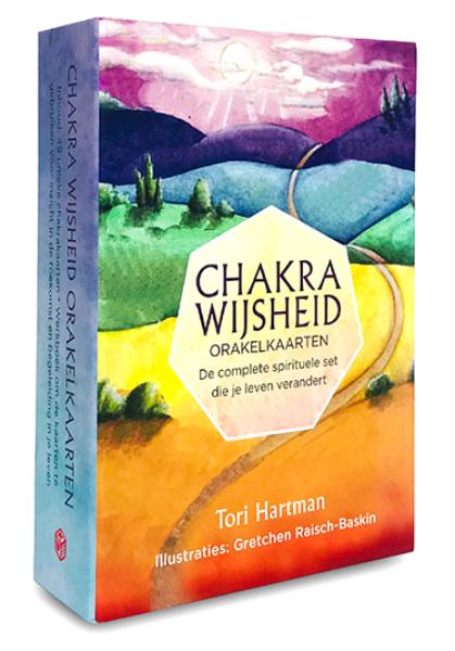 Chakra wijsheid orakelkaarten Tori Hartman 9789085081944 kaarten set Bloom web