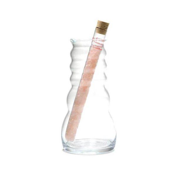 Edelsteenwaterstaaf product Rozenkwarts