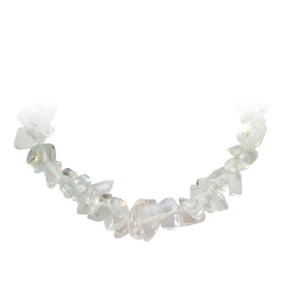 Edelstenen armband Bergkristal Bloom web