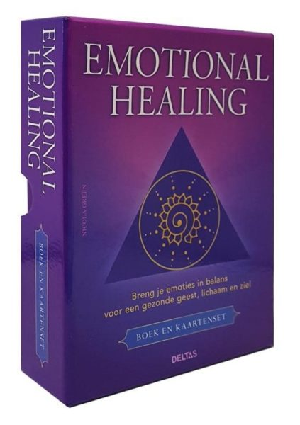 Emotional healing Nicola Green 9789044746853 set boek en kaarten Bloom web