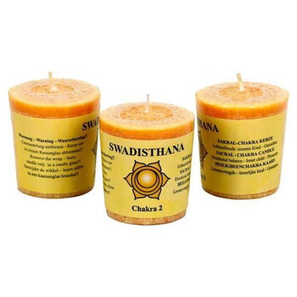 Kaars 2e chakra Swadhisthana Bloom web