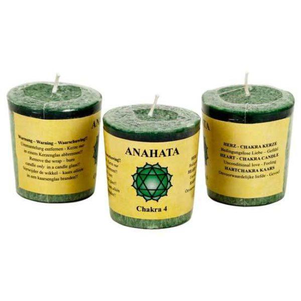 Geurkaarsje 4e chakra Anahata Bloom web