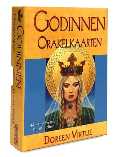 Godinnen Orakelkaarten Doreen Virtue 9789085080886 Doos Bloom