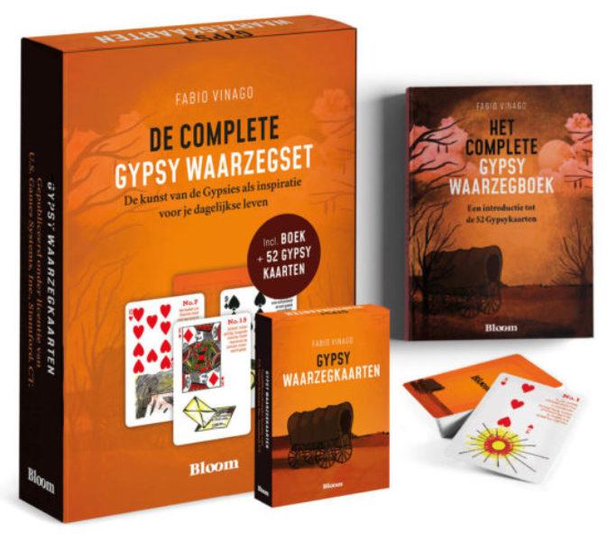 Gypsy Tarot Set Fabio Vinago Bloom 9789072189158