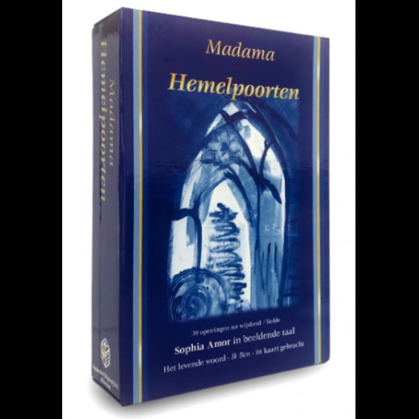 Hemelpoorten Orakelkaarten Madama 9789085080428 doos Bloom
